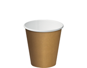 CA-SW8-BRN 8oz Castaway Single Wall Paper Cups Brown