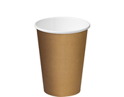 CA-SW12- BRN 12oz Castaway Single Wall Paper Cups BROWN