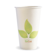 BC-16  16oz Single Wall BioCup Leaf Design