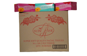 Sunrise 2 Ply Facial Tissues 180's