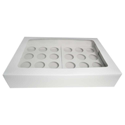 24 Pack Cupcake Boxes