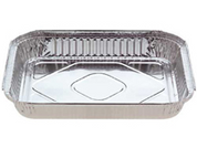 7225 Foil Large Oblong Takeaway Container Base