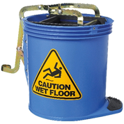 ED Oates Mop Bucket with Castors Blue