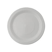 230mm Genfac Plastic Plates White