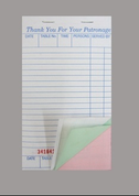 Medium Triplicate Docket Book