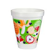 "Dart 12oz Foam Cup ""Fruitz"""