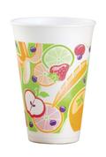 "Dart 16oz Foam Cup ""Fruitz"""