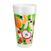 "Dart 24oz Foam Cup ""Fruitz"""