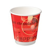 "CA-DW16CPT-CV Castaway 16oz Double Wall Cups ""Cafe Verve"""