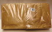 2 Square Brown Bags