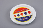 Partyware 230mm Plastic Dinner Plates
