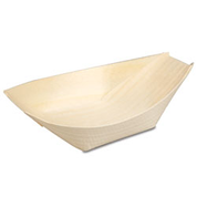 47811 Extra Small Bamboo Boats 115mm x 65mm (50)
