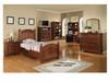 Cape Cod Chocolate Twin Bedroom Set (Youth Bedroom)