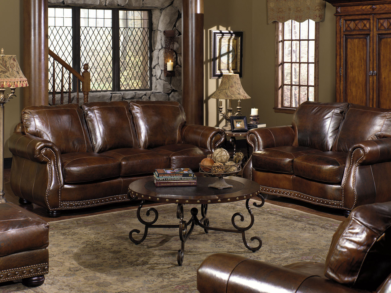 leather sofa love seat chair ottoman rocking recliner and power recliner