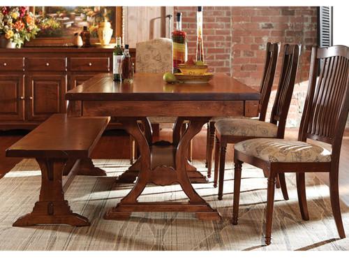 T03 Custom Dining Table - Vintage Oak