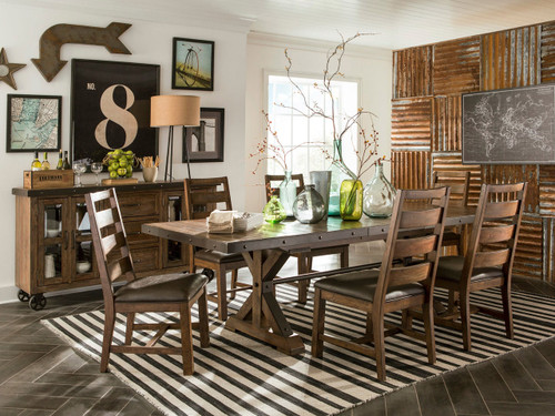 Taos Dining Set  $1299 For Table And 4 Chairs Anniversary Sale Special