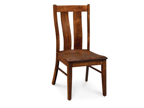 Mitchell Chair in #28 Bourbon stain on Soft Maple