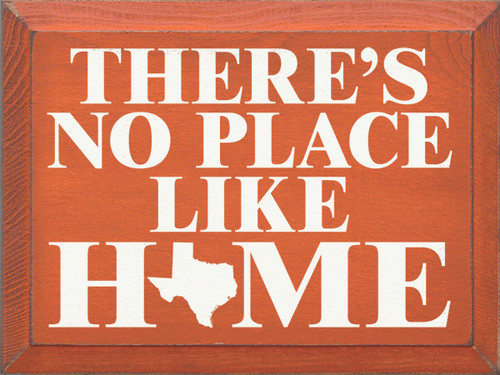 Shown in Old Burnt Orange with Cottage White lettering