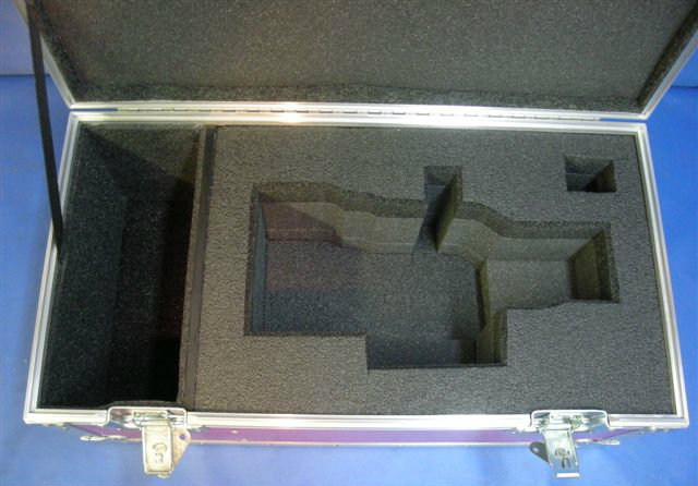 Angenieux 25-250mm HR T3.5 Zoom Lens Custom ATA Shipping Case - Interior View Base