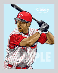"One of the All-Time Cincinnati greats and fan favorite, the ""Mayor"" himself, Sean Casey!!"