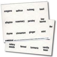 48 Round Spice Labels