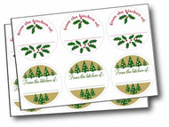 Holiday Canning Labels