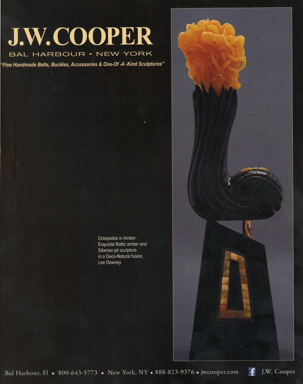 JW COOPER BALTHAZAR MAGAZINE BACK COVER