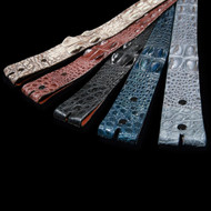Hornback Crocodile Belt, 1 1/2 inch Straight