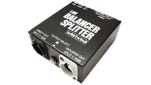 Whirlwind LBS Line Balancer/Splitter - This handy tool balances and isolates a single line level signal or lets you send a line level signal to two destinations with transformer balancing and isolation for one or both of the outputs.