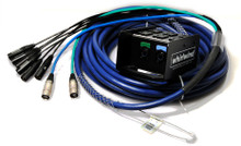 Whirlwind Medusa Digital MD-6-2-C5E - The Medusa Data Snake is available with either Neutrik Cat5e connectors on the box and fan out.