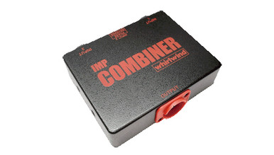 Whirlwind IMP Combiner - This versatile box is built with our premium TRSP-2 transformer for optimum durability. Features a phase reverse switch which flips the polarity of Input #2.