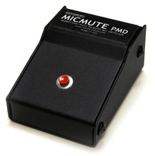 Whirlwind MicMute PMD - The Micmute PMD is configured as Push to Mute switches, meaning that the input signal is normally on, passing through the box. When the switch is depressed and held down, the signal is turned off or muted. The signal is reconnected as soon as the switch is released.