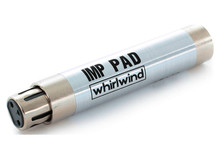 IMP PAD - Input a line signal into a mic pre or match levels between two pieces of gear with these precision in-line H-pads.