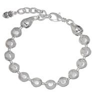 Waxing Poetic Silver Ball Bracelet S018-1