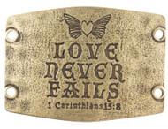 Lenny and Eva Love never fails - Brass