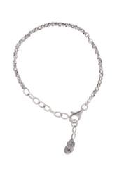 Waxing Poetic Silver Medium Rolo Bracelet