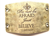 Lenny and Eva Do not be afraid. Just believe - Brass