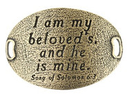 Lenny and Eva Trousseau Sentiment - I am my beloved's and .... - Brass