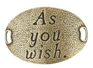 Lenny and Eva Trousseau Sentiment - As you wish - Brass