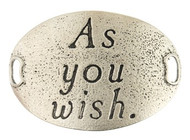 Lenny and Eva Trousseau Sentiment - As you wish - Silver