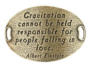 Lenny and Eva Trousseau Sentiment - Gravitation cannot be held... - Brass