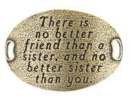 Lenny and Eva Trousseau Sentiment - There is no better friend.... - Brass