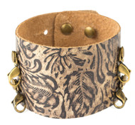 Lenny and Eva Wide Cuff in Daisy Brown