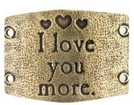 Lenny and Eva I love you more - Brass