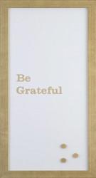 Petal Lane Be Grateful Magnet Board