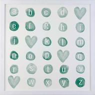 Petal Lane Alphabet Magnet Board