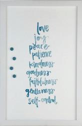 Petal Lane Joy Love Peace Magnet Board