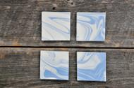 Haand Cloudware Coasters, Set of 4