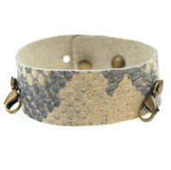 Lenny and Eva Thin Cuff in Faded Cobra