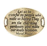 Lenny and Eva Trousseau Sentiment - Let us be grateful - Brass